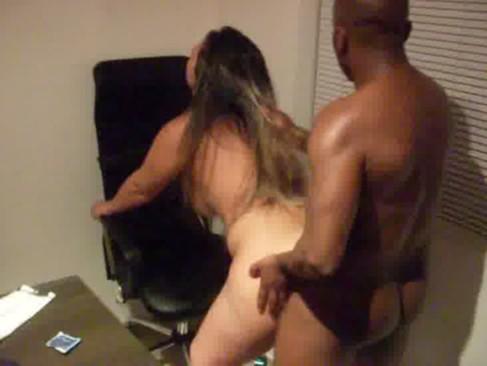 Fabyy casada de SP dando no escritório do marido