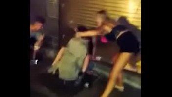 Flagra amador sexo na rua